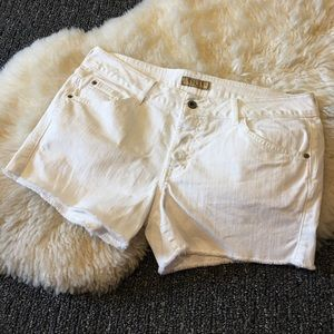 White Guess Shorts